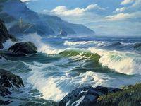 Морские волныкартины