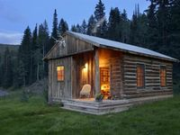 Cabin in The Woods . . .