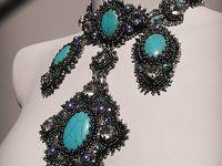 Bijoux perles: Brodés