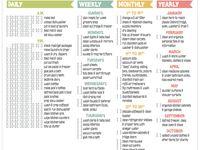 Planner stuff & Organization