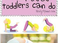 Toddlers yoga