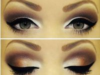 Eyes, Make up, Beauty