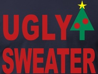 ugly sweater party goods  (not my comments)