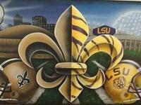 LSU tigers & Saints