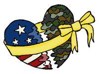 Military love ❤️⚪️