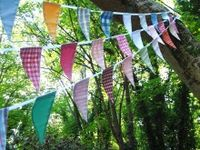 garlands, banners, buntings