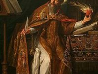 the conversion of saint augustine in the city of christ Conversion of st augustine  he went to hear the preaching of saint ambrose,  put on the lord jesus christ, and make no provision for the desires of the flesh.