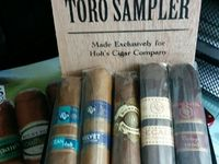 Rocky Patel Luxury Collection / Review of Rocky Patel Luxury Collection Toro Cigar Sampler  Available Exclusively at Holt's Cigar Company  http://cigarczars.com/review/rocky-patel-luxury-cigars.htm