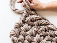 Arm knitting/Hand Crocheting