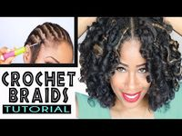 Crochet Hair Extensions Tutorial : 1000+ images about Hair: Crochet Braids Tutorials on Pinterest ...