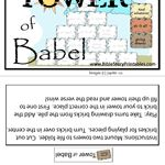 church - bible - tower of Babel