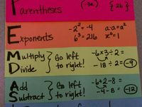 1000+ images about Math - Order of Operations on Pinterest | Math ...