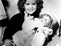 Photos of dolls  & little girls with their dolls