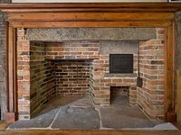 Colonial and Primitive Fireplaces