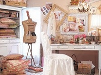 Sewing Craft room