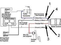Trailer Brake Controller Information Brake Trailer Wiring Diagram Diagram