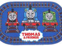 US Seller 2 Sheets Tomas Train Percy Cartoon 3D Stickers Fast Shipping random