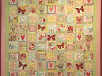 Embroidered Quilts