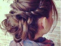 Chignon / coiffure de fête