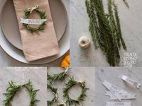 ... 2014 on Pinterest   Christmas Tables, Paper Punch and Pine Cones