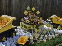 Wesley's 1st birthday Party ideas