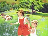 Fell in love with her illustrations in the early 60's as a small girl. Still adore her work.
