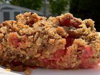 strawberry rhubarb pie strawberry rhubarb oatmeal in a jar strawberry ...