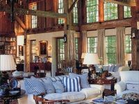 I was raised in a log home & I am still charmed by them.