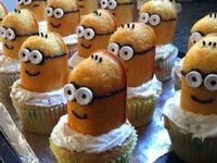Despicable Me Twinkie Minion Cupcakes