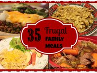 Here are some fantastic, inexpensive & nutritious dinner recipes for your family!