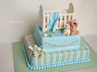 Baby/Baby shower cakes