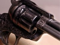 Engraved firearms