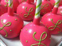 cakepops - bridal shower