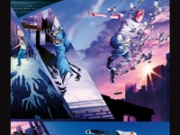 Quiksilver Candide Thovex Poster Prints Comic Styles Deviantart