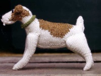 Knitting Pattern For Border Terrier : 10 best images about Time to knit a woofer on Pinterest Yarns, Sculpture an...