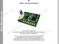 Squ Of68 Universal Emulator Training Manuals Manual Train Universal