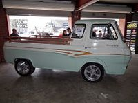 1961 Ford Econoline Pickup Truck Modified Mustangs Fords Magazine Photo Image Gallery Pickup Trucks Trucks Old Ford Trucks