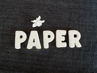 Avec du papier