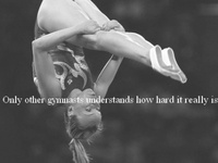An ex-gymnast whose obsession with the sport has taken over my Pinterest