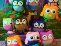 Awesome owls / Crochet, hats, amigurumis, free patterns