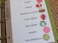 Scrapbook your Cookbook