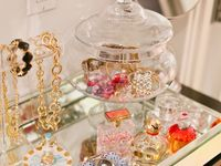 Beautiful ways to display jewelry & store beads