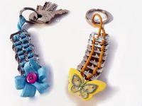 Accesorios, pulseras y aretes crochet
