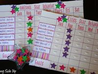 Star behavior charts
