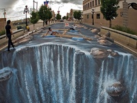 Street paintings/art