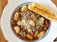 Soup on Pinterest | Lemon Chicken Orzo Soup, Gnocchi Soup and Miso ...