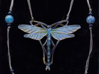 the dragonfly in art, jewelry, pottery, nature, photos