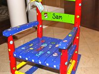 childs rocking chairs Childs Rocking Chair Inspiration Child rockin...