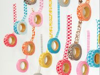 inspiring art and projects with washi tape / masking tape