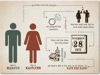 Wedding Save The Date & Invites